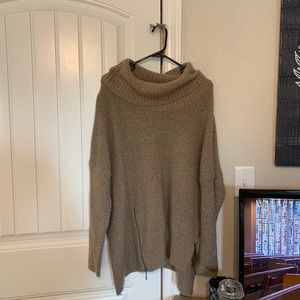 Slouchy Neck Oversized Sweater